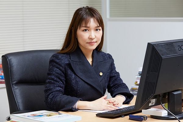 弁護士法人ALG&Associates 千葉法律事務所長 弁護士 金崎美代子