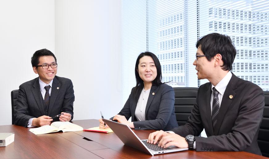 弁護士法人ALG&Associates 大阪法律事務所の意見交換